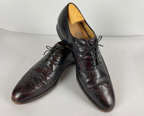 """1940s """"Aristocraft"""" Mens Shoes 