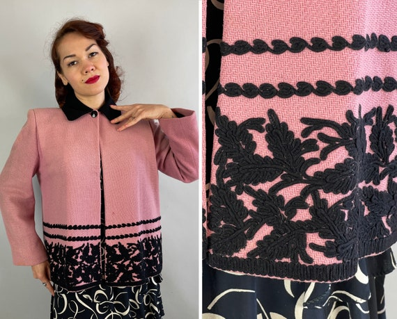 """1940s Fabulous """"F.A.B."""" Swing Jacket 
