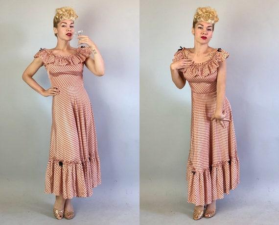1930s 'Miss Hollywood Jr.' Dress Dated 1935! | Vi… - image 7