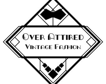 25 Dollar OverAttired Vintage Fashion Gift Certificate