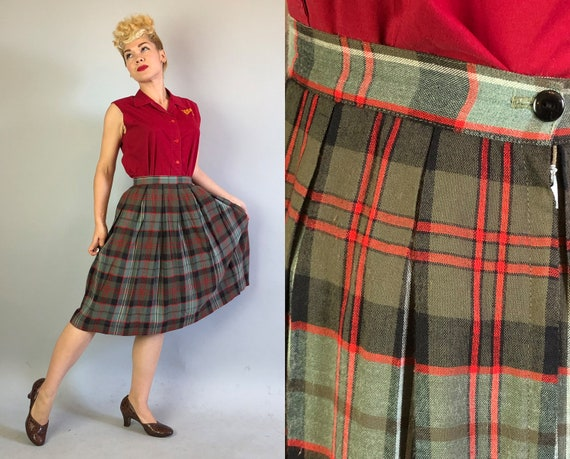 """Vintage 1940s Skirt 