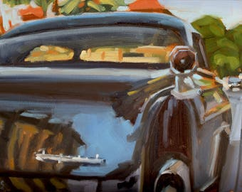 The Imperial - Original Oil Painting on 5x7 inch Ampersand Gessobord