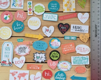 GREAT FOR SCRAPBOOKS 14 Gymnastics Quotes Stickers FUN /& MOTIVATIONAL