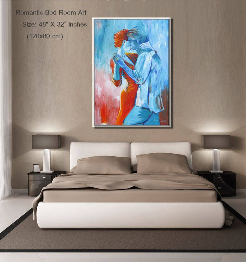 Contemporary Art Bedroom Wall Art Figure Art Art Prints Artwork Canvas Art For Bedroom Bedroom Decor Living Room Decor