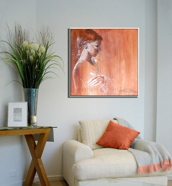 Portrait Painting Bedroom Painting Bedroom Wall Art Tranquility Bedroom Art Canvas Painting Home Decor Wall Art Oil Painting Original