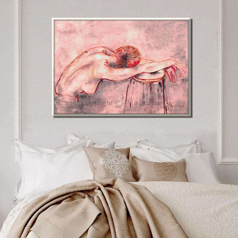 Frau Malerei Frau Dekor Öl-Malerei Malerei Zeichnung | Etsy