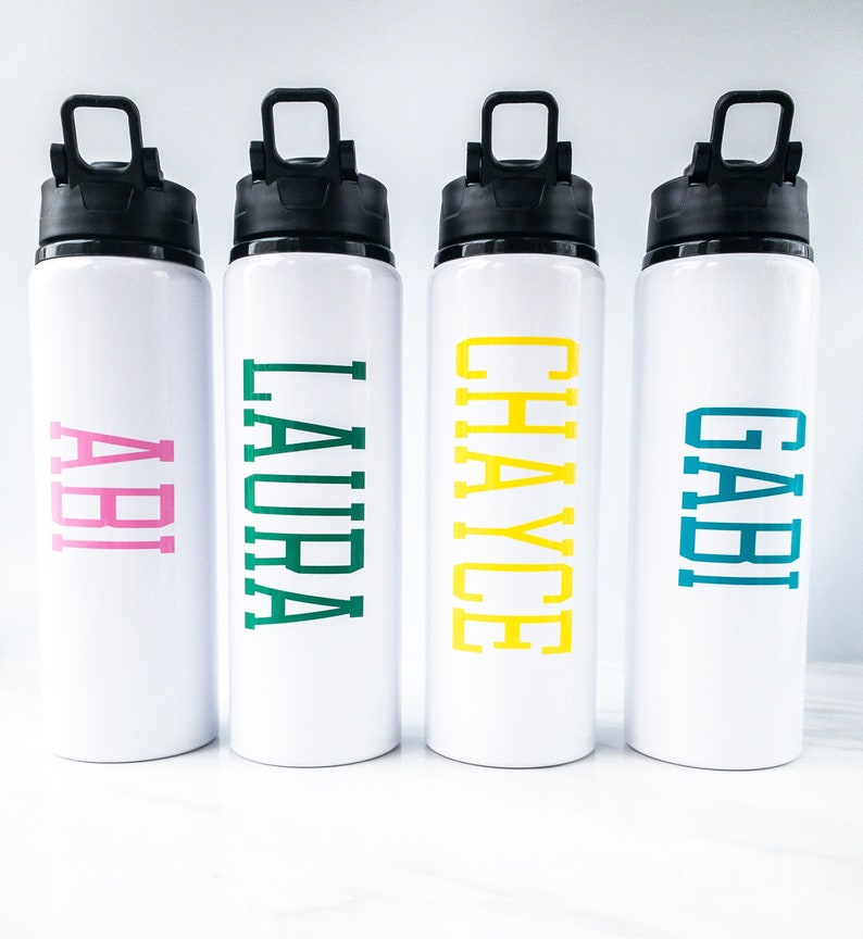 Personalized Water Bottles Kids  Birthday Favor  Water image 0