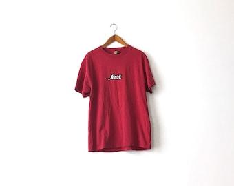 90s LOST Shirt - Large / Lost Enterprises / Lost Skateboards / Skate Shirt / Skater Shirt / Skate Tee / 90s Skate Shirt / 90s Skater / 90s