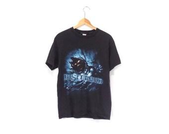 DISTURBED SHIRT // 90s // Medium // Disturbed // Disturbed Shirt // Disturbed T-Shirt // Metal Shirt // Metal T-Shirt // Disturbed Shirt
