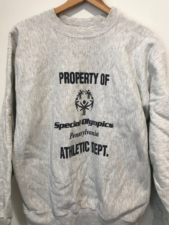 anni ' 90 Special Olympics felpa grande speciale Olimpiadi Thick felpa Olympic felpa Special Olympics Olimpiadi 90s