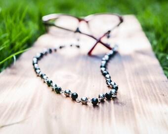Eye Glasses Chain  |  Eye Glasses Holder   |  Trendy Glasses Accessories  |   Reading Glasses Chain  |  Wire Wrapped Glasses Chain