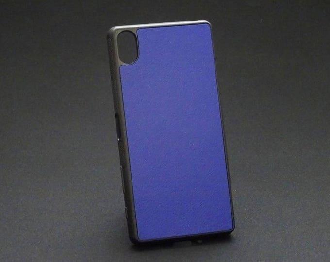 Sony XZ XZs - Jimmy Case in Blue - Kangaroo leather - Handmade - James Watson