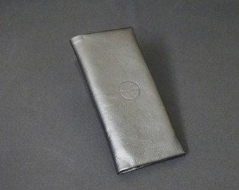 Billfold14 Wallet - Handmade Kangaroo leather phone wallet purse coin id with RFID Credit Card blocking - Black