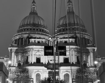 City Fine Art Photo: Second Guess God. St. Paul's Cathedral, London, City, Photography.