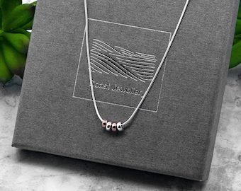 Silver 40th Birthday Gift | Snake Chain Necklace