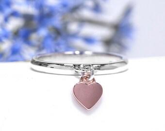 Dangle charm ring  f814a1e568