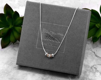 Silver 50th Birthday Gift | Snake Chain Necklace