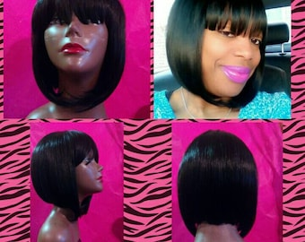 Chinese Bang Wig Etsy
