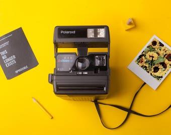 aed6cf3d62d55 Polaroid One Step Close Up 636 Instant Film Camera Vintage Polaroid 600  type film camera