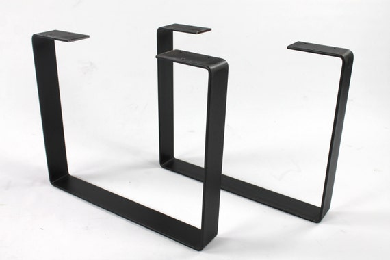 Set Of 2 Heavy Duty Steel Legs Coffee Table Legs Industrial Etsy
