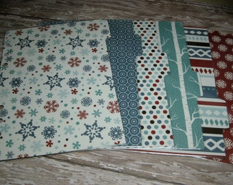 Dividers for A5 Large Size Planner Icy Winter