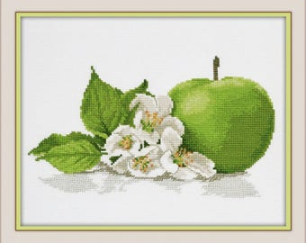 Cross Stitch Kit Flowers / Bouquet/ Cuisine/Fruits