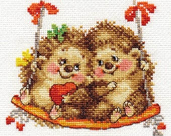 Cross Stitch Kit beginner / children / animal