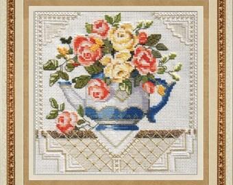 Cross Stitch Kit Flowers / Bouquet/ Cuisine/Roses