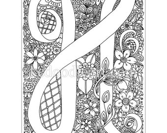Instant Digital Download Find The Dragonflies Coloring Page Etsy
