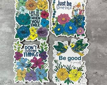 Journal or scrapbook feel good Stickers