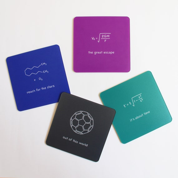 Rocket Fuel Chemistry Nerd Encouragement Inspiration Card Science Graduation Card Science Geek Card Reach For the Stars