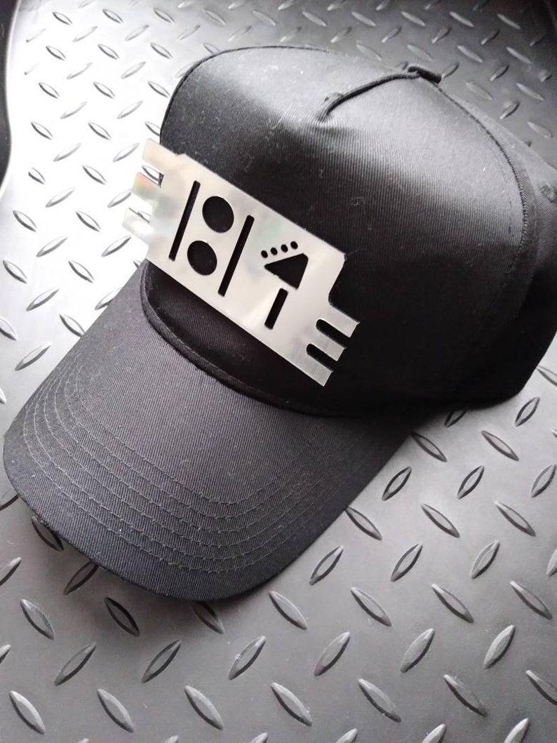 Rhythm Nation Janet Jackson 1814 pin & HAT image 0