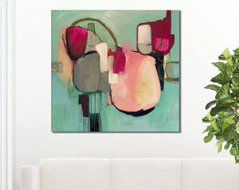 Large abstract giclee print, abstract print, abstract painting print, large abstract art print, abstract canvas art print, abstract artwork