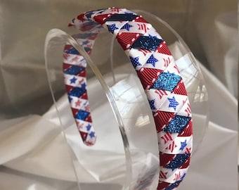 Patriotic Ribbon Headband