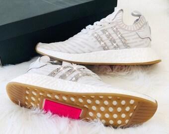 23aee10df832df Crystal WMNS Adidas NMD R2 Luxus Sneaker Bling mit Swarovski Elements