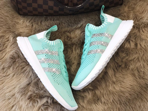 best selling wholesale outlet the sale of shoes Crystal Adidas Originals Flashback NMD Glitzer mit Swarovski Elements