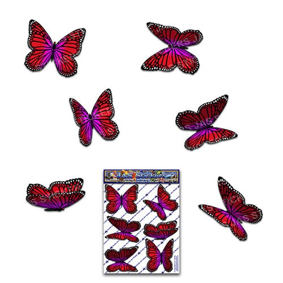 m Butterfly Vinyl Decal for laptop windows wall car boat