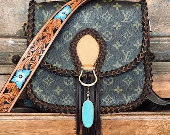 adfd2ecad737 Braided Fringe Louis Vuitton Saint Cloud Crossbody