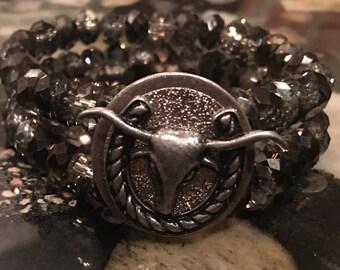 Steer Concho Bracelet