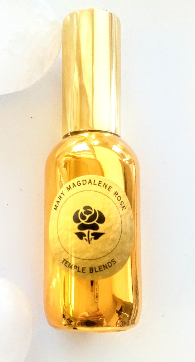 Gold Mary Magdalene Rose Cleaning Spray image 0