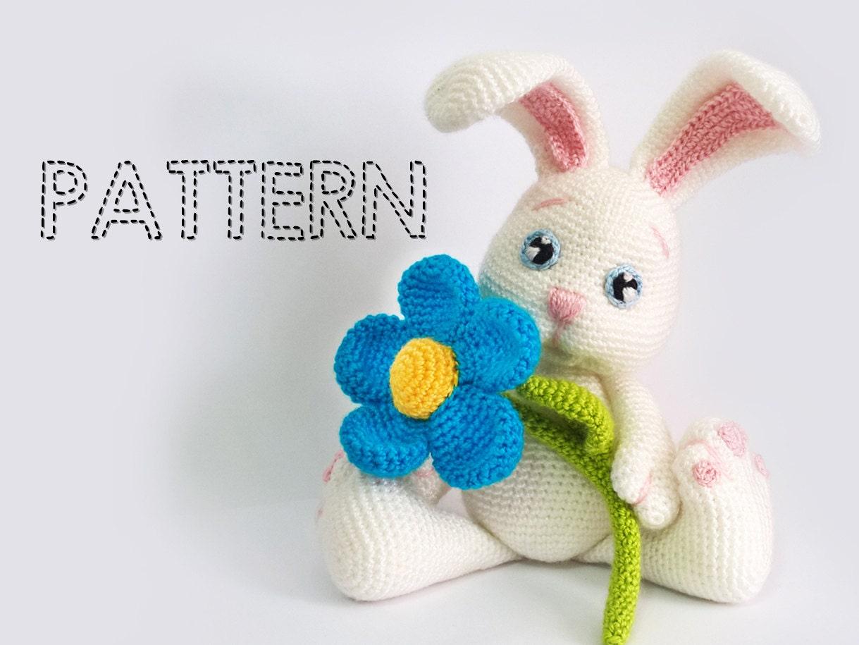 Sale Easter Bunny Crochet Patterns Amigurumi Animals Crochet Etsy