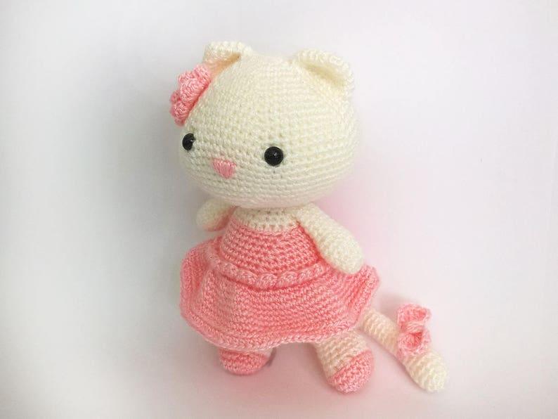Amigurumi Ballerina Kitten - A Free Crochet Pattern   Crochet ...   596x794