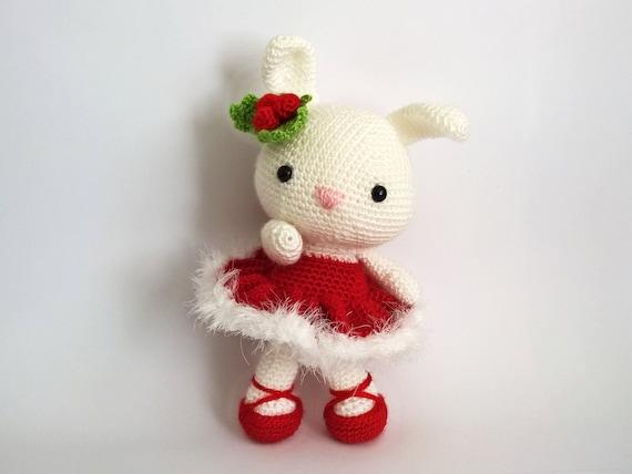 Easter Bunny Haak Kerstmis Amigurumi Bunnies Amigurumi Etsy