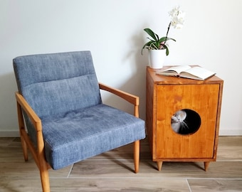 Litter box furniture | Etsy