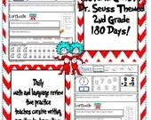 Items similar to 2nd grade Morning work  Daily language arts