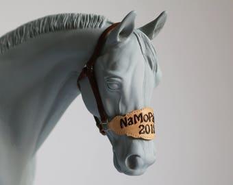 Bronc noseband etsy namopaimo 2018 custom bronc noseband noseband only for breyers 19 scale model horses maxwellsz