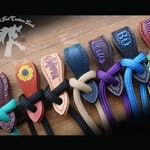 Mecate Reins & Slobber Straps - Custom Made to Order - Personalized - Rope Reins - Horse Tack