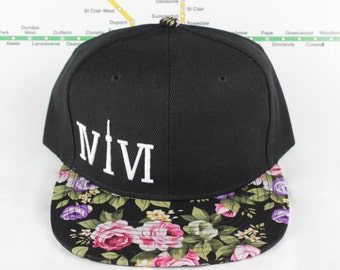 Floral Fresh and Fly! Beautiful 416 hats. Original, Custom Unisex Snap backs, CN Tower, The Six, 6ix, Area Code 416 Roman Numerals, OVO, !