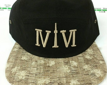 416 Collection Cork Brimmed 5 Panel Hats! YYZ, GTA, CN Tower, ovo, Area Code 416 in Roman Numerals, Cork, 6ix, Drake, More Life, Views, TDot