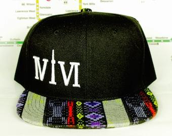 Native Aztec Pride 416 hats! Original, Custom, Snap Backs, CN Tower, The Six, 6ix, Area Code, 416 Roman Numerals, YYZ, GTA, Unisex, Toronto!